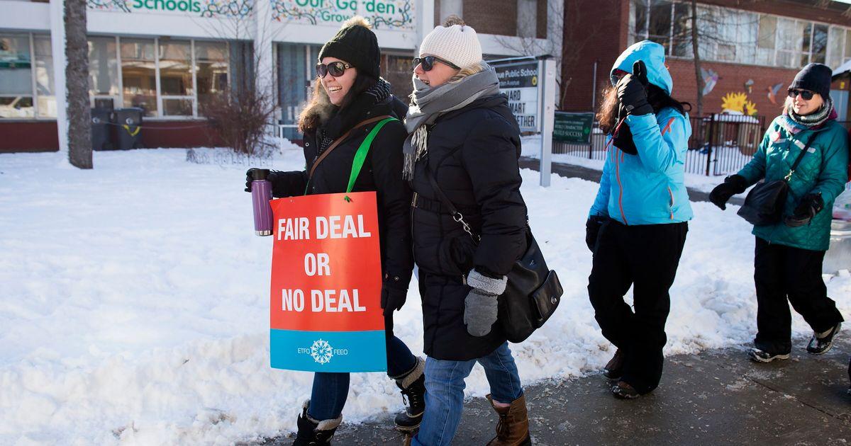 オンタリオ州の教師のストライキはどのように終わらせることができたのでしょうか?