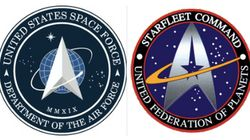 New Space Force Seal Boldly Goes Where 'Star Trek' Has Gone