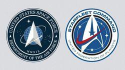 Le logo de la Force armée de l'Espace dévoilé par Trump en rappelle un