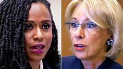 Ayanna Pressley Throws Down Gauntlet To Betsy DeVos Over Slavery-Abortion