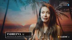 Descubren una llamativa imagen del pasado de Andreína , concursante de 'La Isla de las
