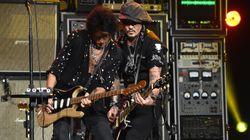 Ο Τζόνι Ντεπ ξανά με τους Aerosmith που γιορτάζουν 50 χρόνια στη