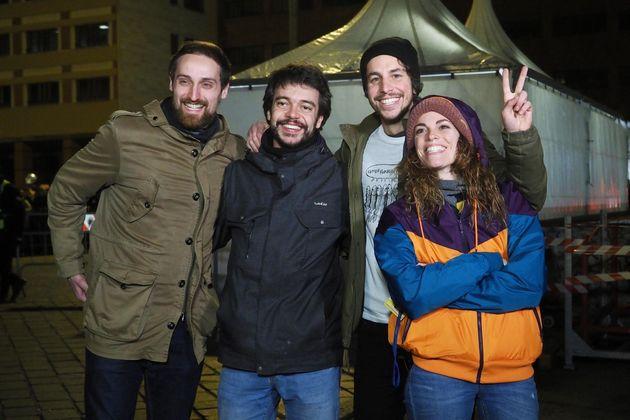 I leader delle Sardine seguiranno insieme la notte elettorale |   Il nostro lo abbiamo