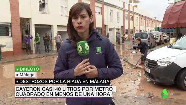 Vecinos de Málaga gritan