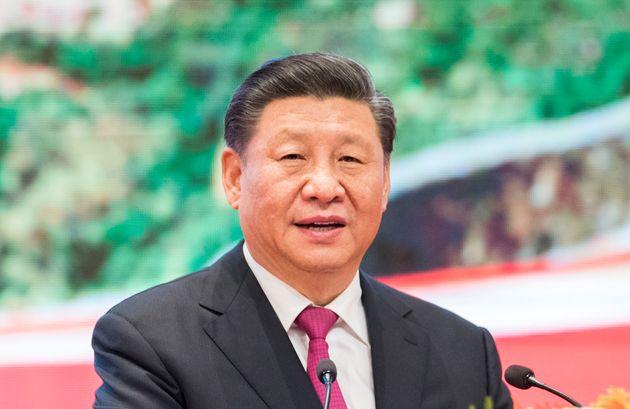Xi Jinping, ici à Nay Pyi Taw au Myanmar 17 janvier