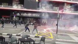 Un detenido tras la pelea a palos entre ultras del Valencia y del