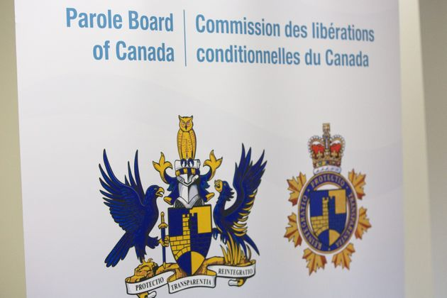 Parole board of Canada during a hearing in Bath, Ont., on Oct., 17,