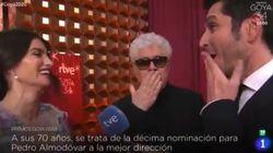 La reacción de Penelope Cruz tras este comentario de Pedro Almodóvar: dice justo lo que no