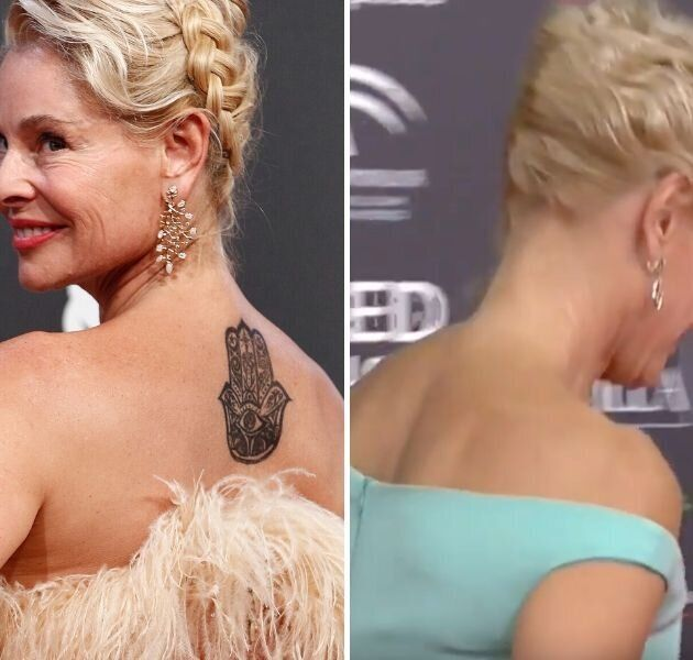 La espalda de Belén Rueda en los Feroz y en los Goya 2020.