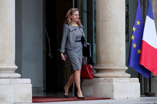Nicole Belloubet, ici sortant de l'Élysée en décembre 2019, est visée par...