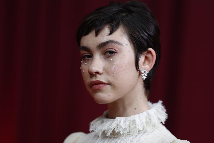 Greta Fern&aacute;ndez, nominada por <i>La hija de un ladr&oacute;n</i>.