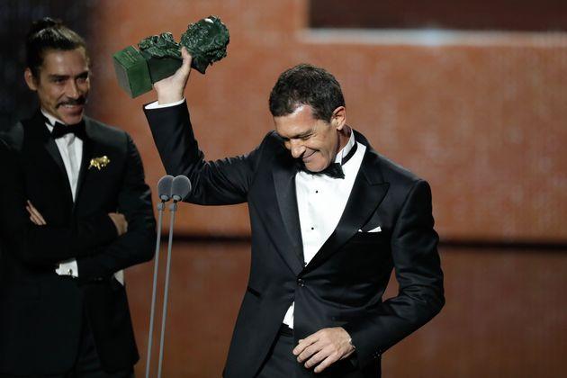 Antonio Banderas, en los Premios Goya