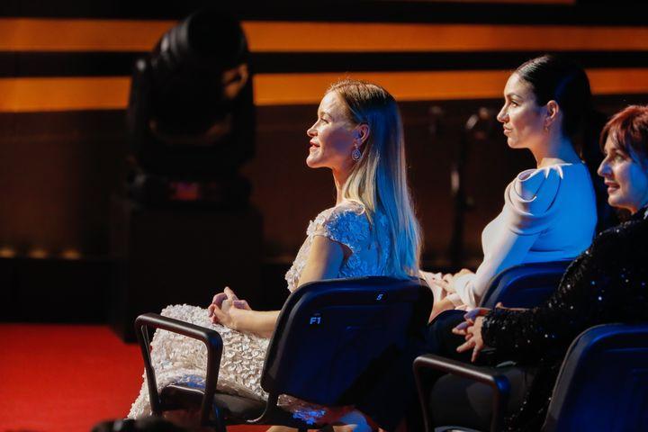 Detalle de las sillas de los Goya 2020.