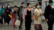 以上2,000世界の現在に感染しCoronavirus FFF56死の中国