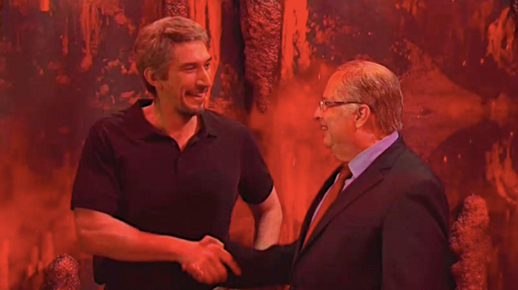 Jon Lovitz's Alan Dershowitz Goes To Hell To Meet 'Huge Fan' Lucifer On 'SNL'