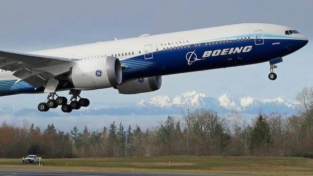 Boeing 777X: Ξεκίνησε το παρθενικό του ταξίδι ο «Γίγας των