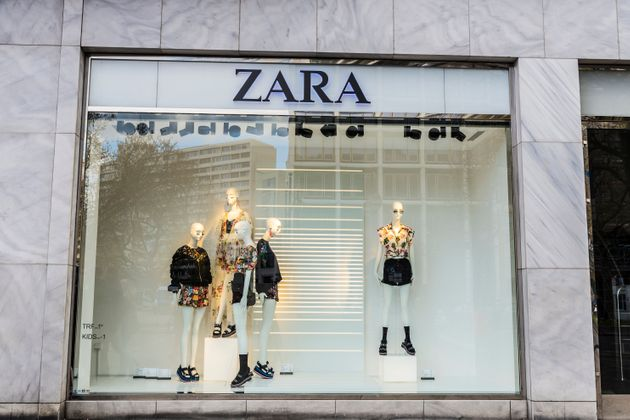 Berlin: Zara shop in the of Berlin,