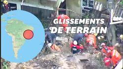 Au moins 30 morts au Brésil après les pluies les plus fortes jamais