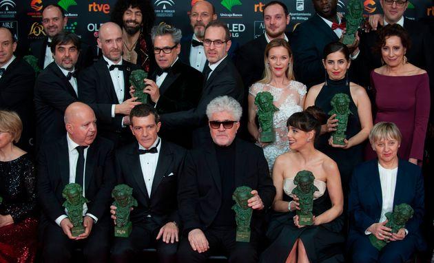 Premiados en los Goya