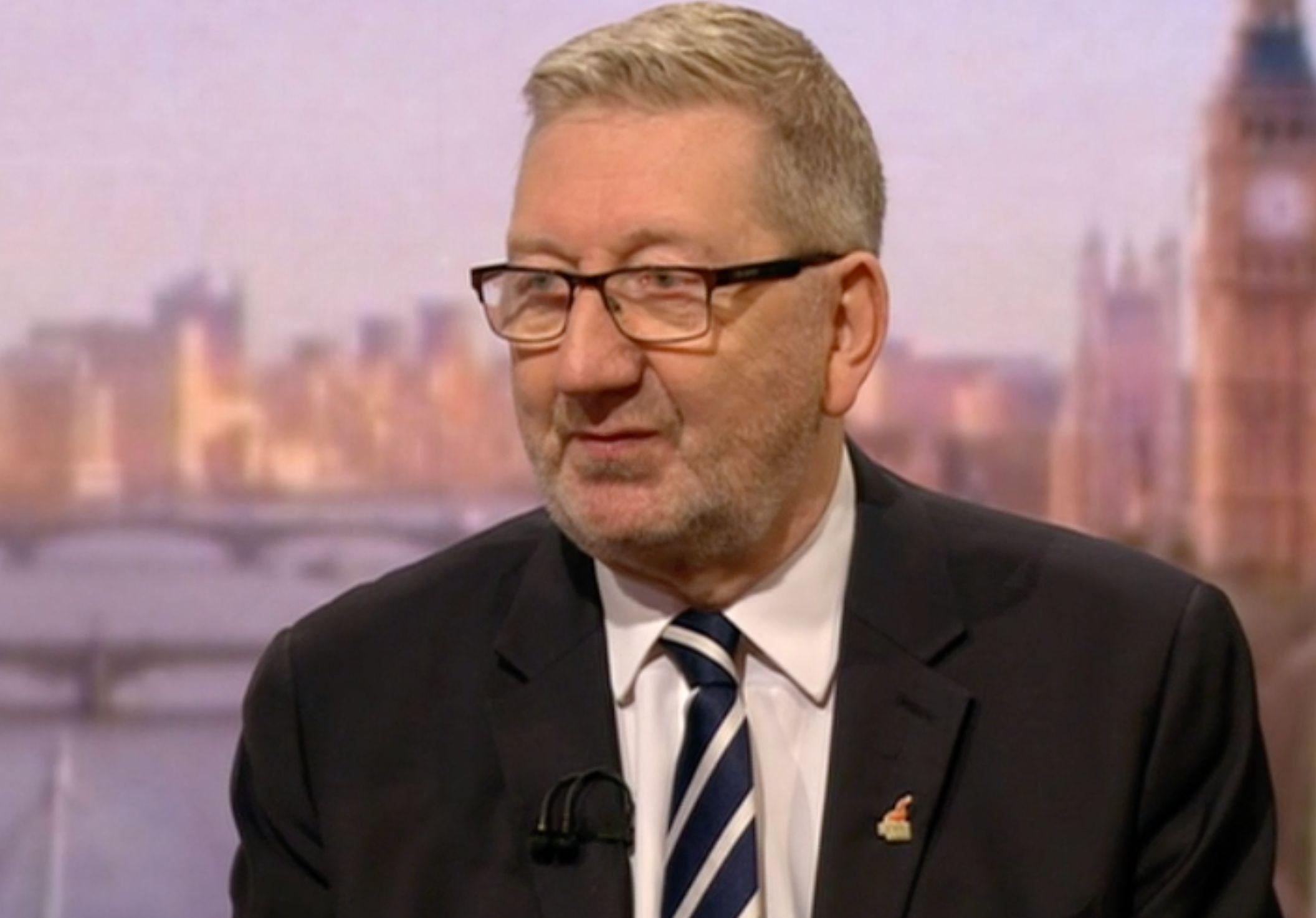 Anti-Semitism Accusations Used To Undermine Jeremy Corbyn, Says Len McCluskey