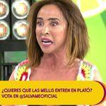 María Patiño ('Sálvame') se moja sobre política: