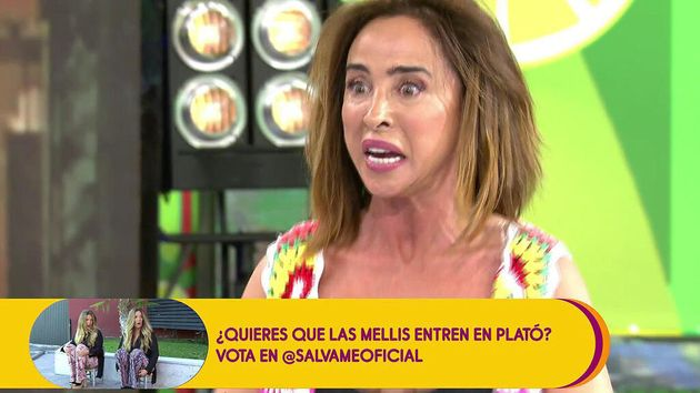 María Patiño, colaboradora de 'Sálvame' y presentadora de 'Socialité'