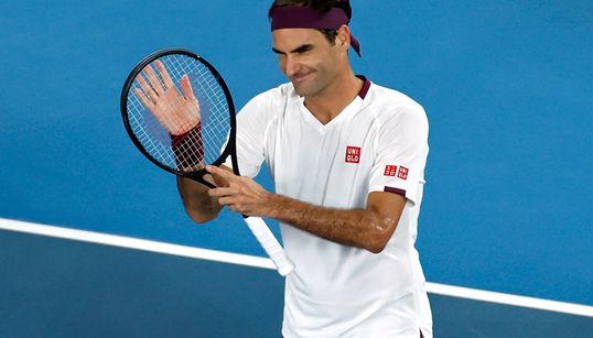 Federer Overcomes Slow Start, Reaches Australian Open