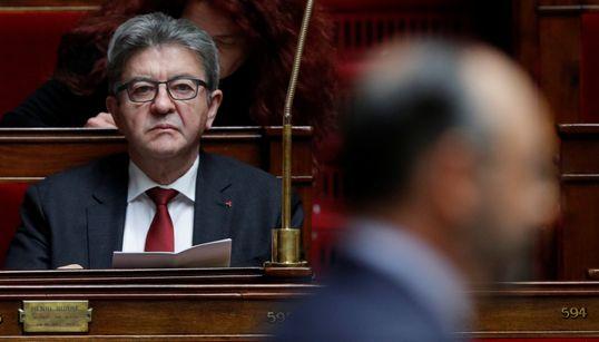 """LREM s'inquiète de l'appel à la """"rébellion"""" de Mélenchon dans ses"""