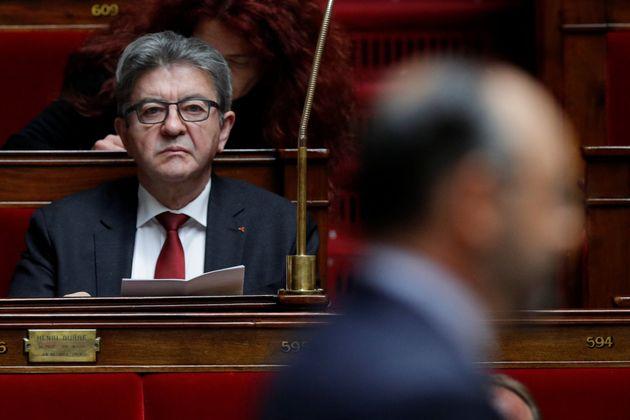 """LREM s'inquiète de l'appel à la """"rébellion"""" de Mélenchon"""