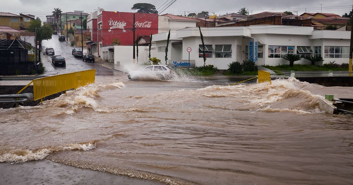 Dozens Killed In Brazil After Highest Rainfall In 110 Years