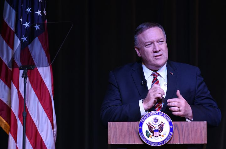 Secretary of State Mike Pompeo reportedly went off on an NPR reporter for asking him questions about Ukraine during an interv