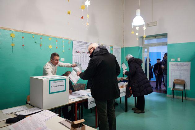 26/01/2020 Bologna, Elezioni regionali in Emilia