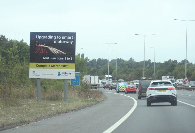 Smart Motorways Under Review After Surge In Near-Misses