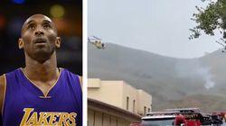 Addio a Kobe Bryant. Le immagini dell'elicottero caduto