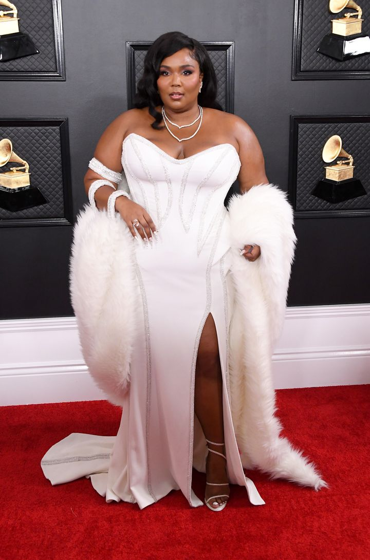 Lizzo attends the 62nd Annual Grammy Awards at Staples Center on Jan. 26 in Los Angeles.