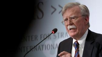 """WASHINGTON, DC - SEPTEMBER 30:  Former U.S. National Security Advisor John Bolton speaks at the Center for Strategic and International Studies September 30, 2019 in Washington, DC. Bolton spoke on the topic of , """"Navigating Geostrategic Flux in Asia: The United States and Korea.""""  (Photo by Win McNamee/Getty Images)"""