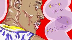 Jim Carrey's Touching Portrait Of Kobe Bryant Says So Much With So