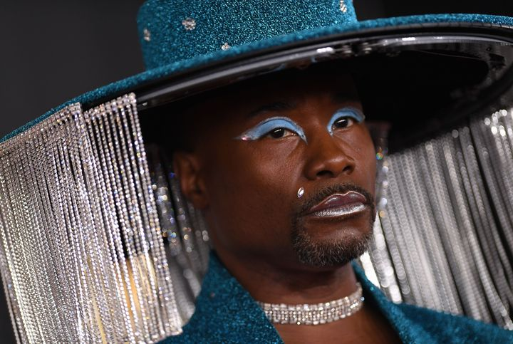 US actor Billy Porter arrives for the 62nd Annual Grammy Awards on January 26, 2020, in Los Angeles. (Photo by VALERIE MACON