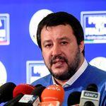 Salvini, prima