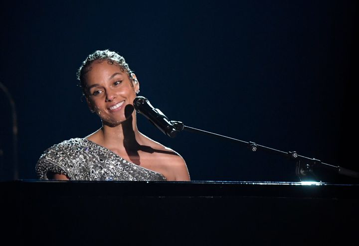 Alicia Keys performs onstage during the 62nd annual Grammy Awards at Staples Center on Jan. 26, 2020.