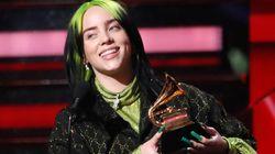 Billie Eilish é a grande vencedora do Grammy