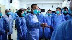 중국 총리가 우한 폐렴 확산 방지를 위해 우한을