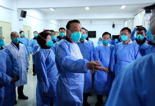 리커창 중국 총리가 신종 코로나바이러스 확산 방지를 위해 우한을