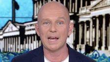 Το Fox News Υποδοχής Steve Hilton φωνάζει