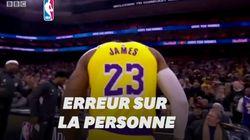 À la mort de Kobe Bryant, la BBC diffuse des images... de LeBron