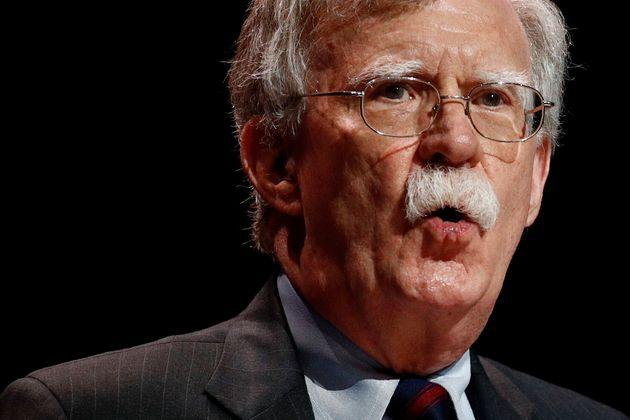 John Bolton, el 8 de julio de 2019, durante un discurso en la convención anual de Cristianos Unidos...