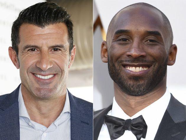 Luis Figo y Kobe