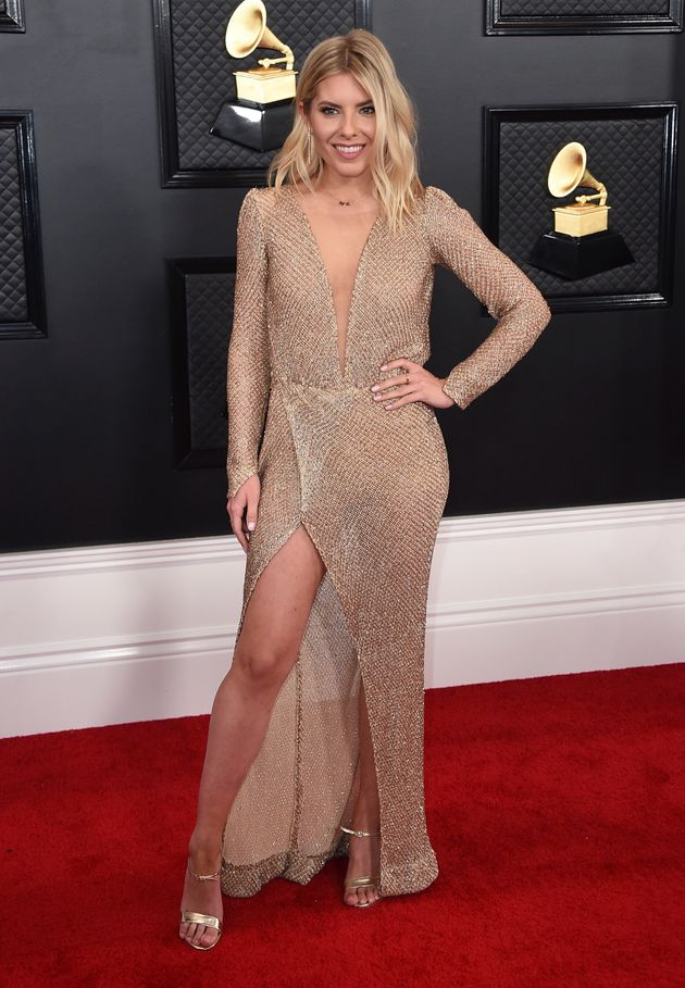 The Saturdays Mollie King Was The Grammys Most Unexpected Guest
