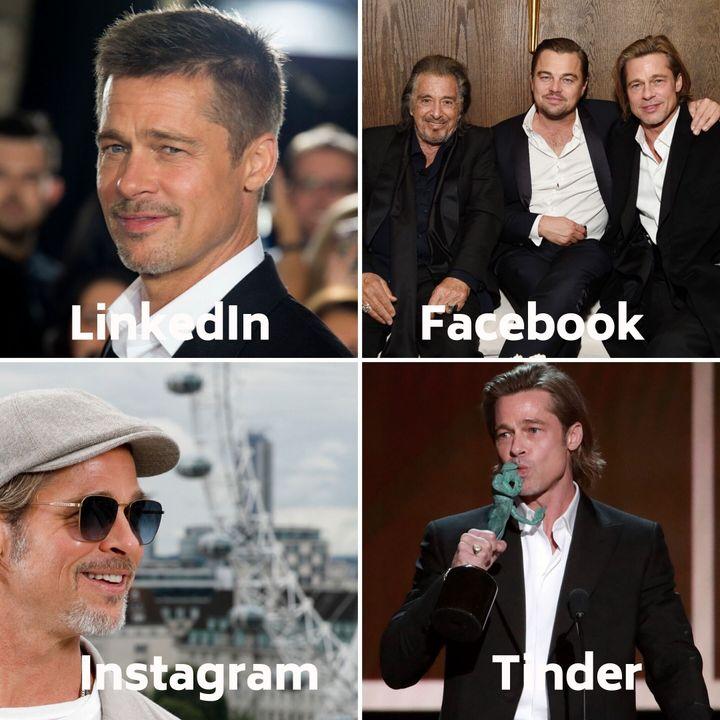 El #dollypartonchallenge de Brad Pitt