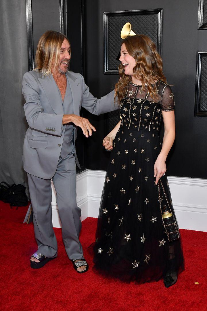 Ο Iggy Pop και η Μάτζι Ρόντζερς με Chanel.